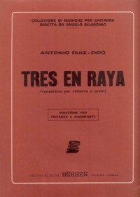 Tres en raya, concertino [Stg Orch] [GPR] available at Guitar Notes.