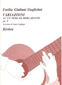 Variazioni, op.9 available at Guitar Notes.