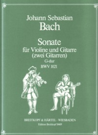 Sonata, BWV1021(Uhlmann) available at Guitar Notes.