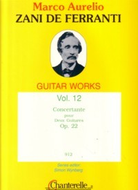 Guitar Works, Vol.12: Concertante available at Guitar Notes.