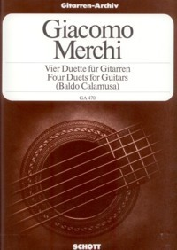 4 Duets, op.3(Calamusa) available at Guitar Notes.