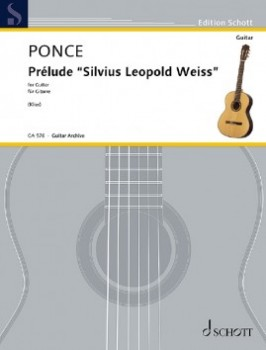 Prelude 'S.L. Weiss' available at Guitar Notes.