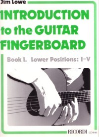 Introduction to the Guitar Fingerboard, Book 1 available at Guitar Notes.