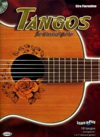 Tangos for Classical Guitar available at Guitar Notes.