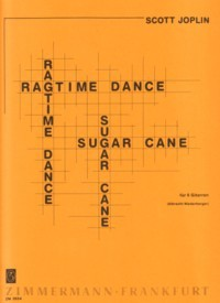 Ragtime Dance, Sugar Cane(Niederberger) [6gtr] available at Guitar Notes.