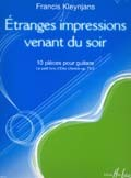 Etranges impressions, 10 pieces op.73/2 available at Guitar Notes.
