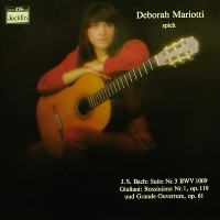Deborah Mariotti spielt Bach & Giuliani (rare) available at Guitar Notes.