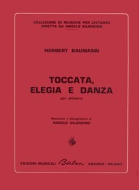 Toccata, Elegie & Danse available at Guitar Notes.