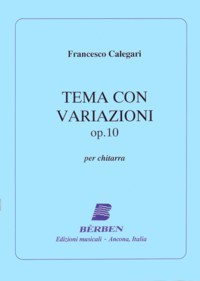 Tema con variazioni op.10 available at Guitar Notes.