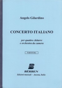 Concerto Italiano [4Gtr] available at Guitar Notes.