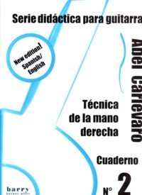 Serie didactica: Cuaderno no.2-Right Hand available at Guitar Notes.