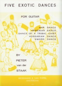 Five Exotic Dances available at Guitar Notes.