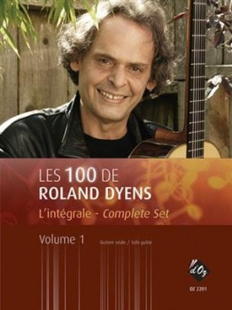 Les 100 de Roland Dyens Vol.1 available at Guitar Notes.