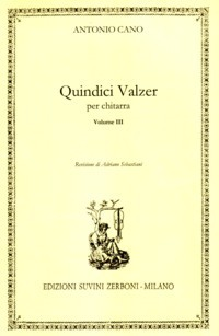 Composizioni Vol.3: Quindici Valzer (Sebastiani) available at Guitar Notes.