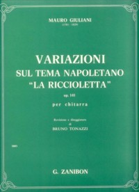 Variazioni, op.141(Tonazzi) available at Guitar Notes.