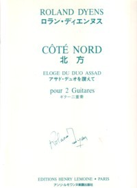 Cote Nord available at Guitar Notes.