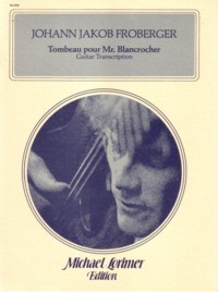 Tombeau pour Mr.Blancrocher(Lorimer) available at Guitar Notes.