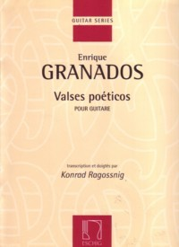 Valses poeticos(Ragossnig) available at Guitar Notes.
