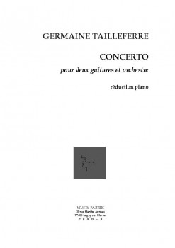 Concerto pour deux guitares available at Guitar Notes.