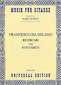 Ricercari & Fantasias(Scheit) available at Guitar Notes.