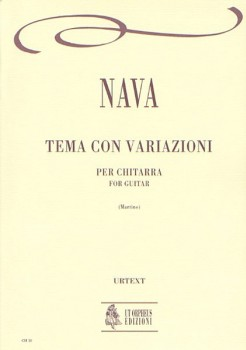 Tema con variazioni (Martino) available at Guitar Notes.