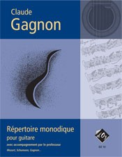 Repertoire monodique available at Guitar Notes.