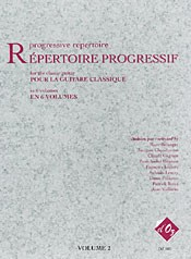 Repertoire Progressif Vol.2 available at Guitar Notes.