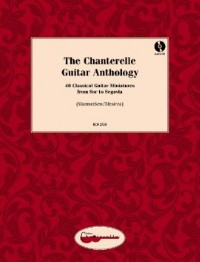 The Chanterelle Anthology available at Guitar Notes.