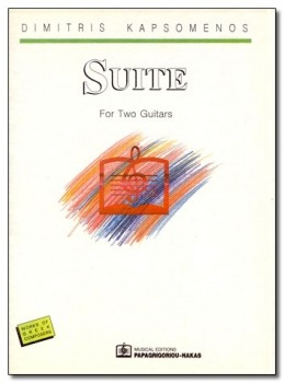Suite for two guitars available at Guitar Notes.