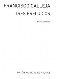 3 Preludios available at Guitar Notes.