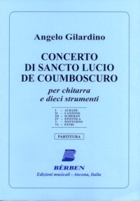 Concerto di Sancto Lucia available at Guitar Notes.