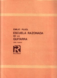 Escuela Razonada de la Guitarra, Vol.3 available at Guitar Notes.