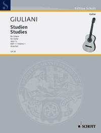 Studies, op.1a(Kreidler) available at Guitar Notes.