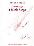 Hommage a Frank Zappa available at Guitar Notes.
