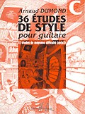 36 Etudes de Style: Vol.C available at Guitar Notes.