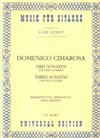Three Sonatas(Wallisch) available at Guitar Notes.