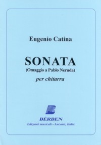 Sonata (Omaggio a Pablo Neruda) available at Guitar Notes.
