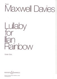 Lullaby for Ilian Rainbow available at Guitar Notes.