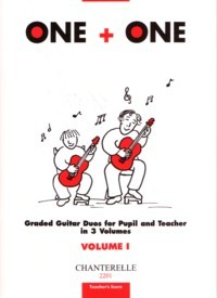 One+One, Vol.1 [Teacher's score] available at Guitar Notes.