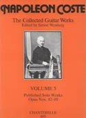 The Collected Guitar Works Vol.5 available at Guitar Notes.