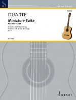 Miniature Suite op.6 available at Guitar Notes.