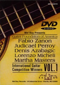 GFA Competition Winners, Vol.1 available at Guitar Notes.