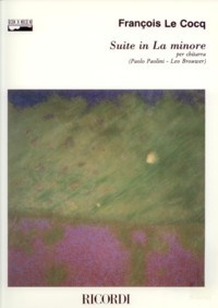 Suite in a minor(Brouwer/Paolini) available at Guitar Notes.