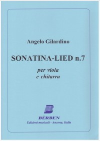 Sonatina-Lied no.7 [va & gtr] available at Guitar Notes.