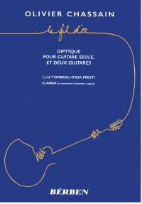 Le Fil d'Or, diptyque available at Guitar Notes.