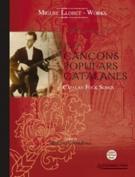 Guitar Works Vol.1 (Grondona) - Catalan folksongs available at Guitar Notes.