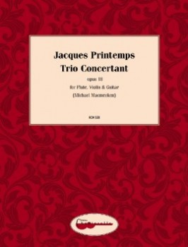 Trio Concertant op.18 available at Guitar Notes.