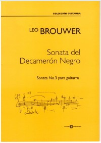 Sonata del Decameron Negro No.3 available at Guitar Notes.