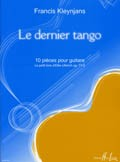 Le dernier tango, 10 pieces op.73/5 available at Guitar Notes.