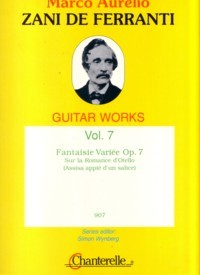 Guitar Works, Vol.7: Fantaisie Variee, op.7 available at Guitar Notes.